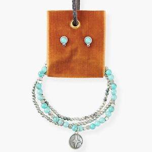 Lucky Brand Turquoise Set
